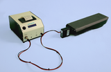 Bosch accu aasluiten op Batterytester