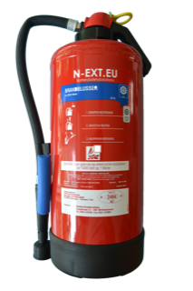 E-bike battery fire extinghuisher, 9 ltr.
